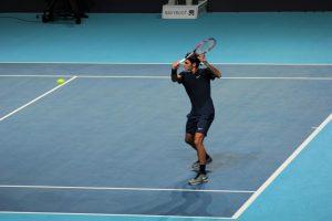 Roger Federer Swiss Indoors Bâle