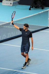 Roger Federer gagnant