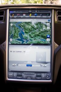 Tesla Model S Touchscreen