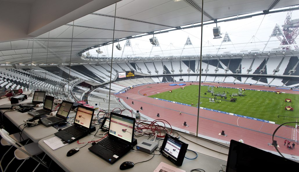 London 2012_timekeeping room