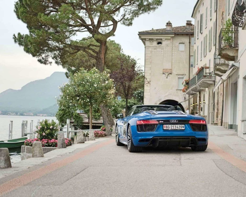 Cars And Coffee With The Audi R8 Spyder