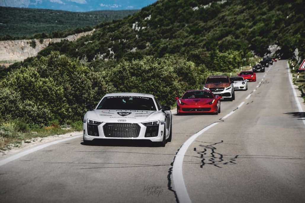 lion's run - our first supercar rallye with the nissan gt-r