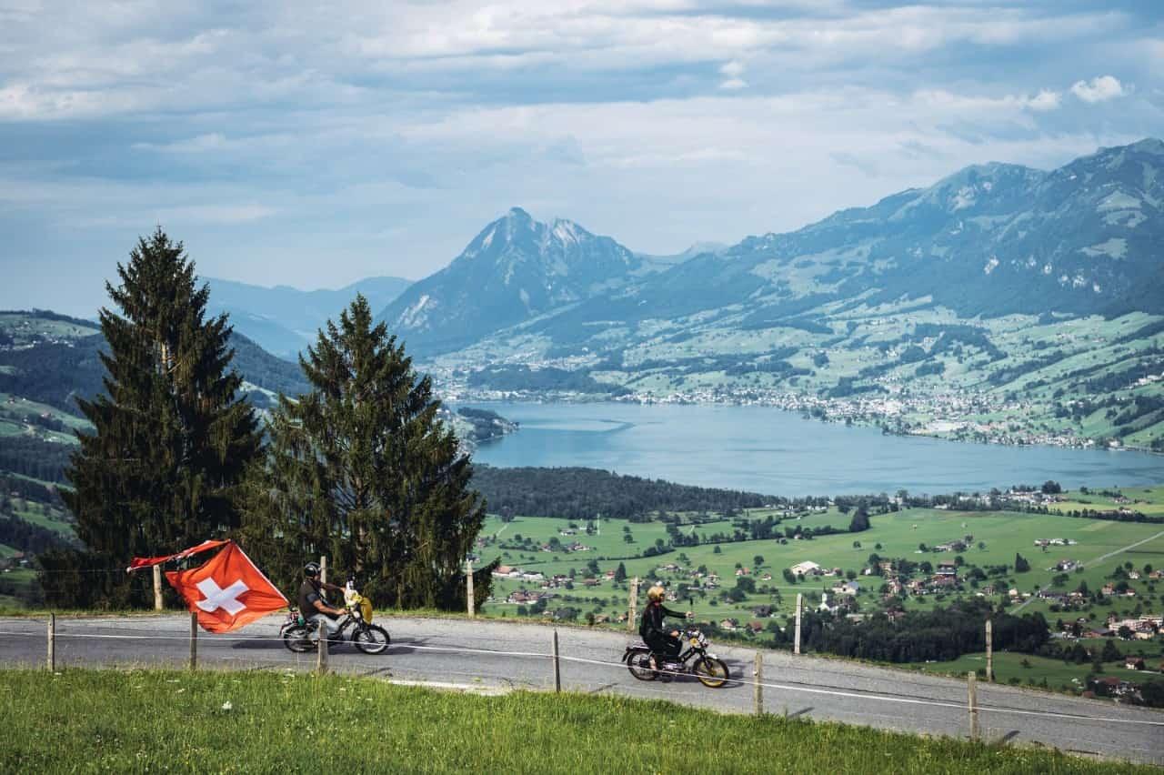 Alpenbrevet Strecke