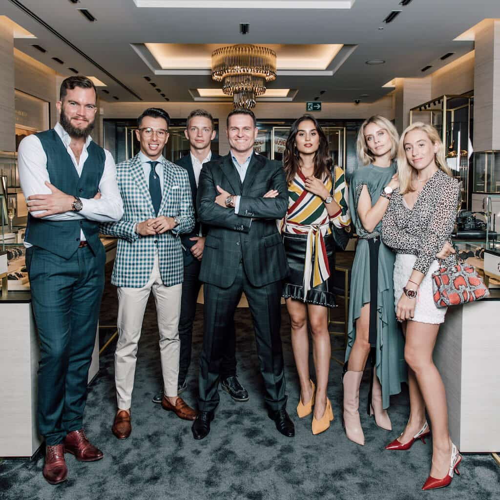 carl f. bucherer influencers