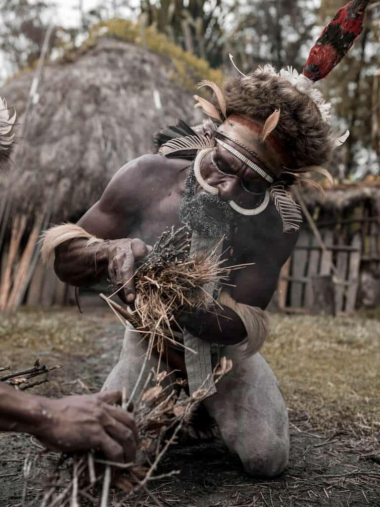uhreinwohner west neuguinea