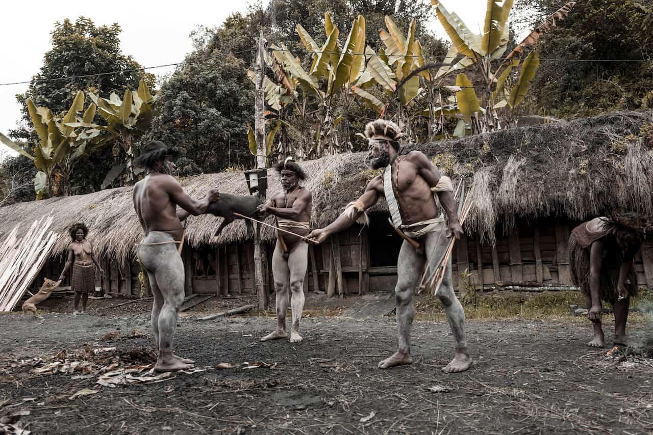 einwohner westneuguinea