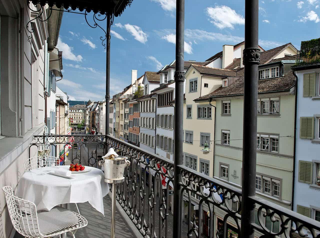 widder hotel balkon