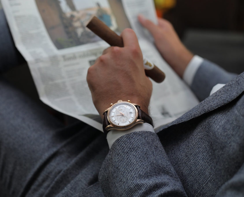 carl f. bucherer chronograph