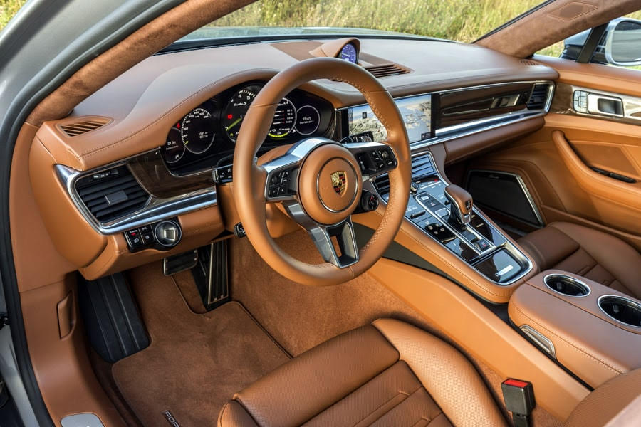Porsche Panamera Turbo S E Hybrid Interior A Gentleman World