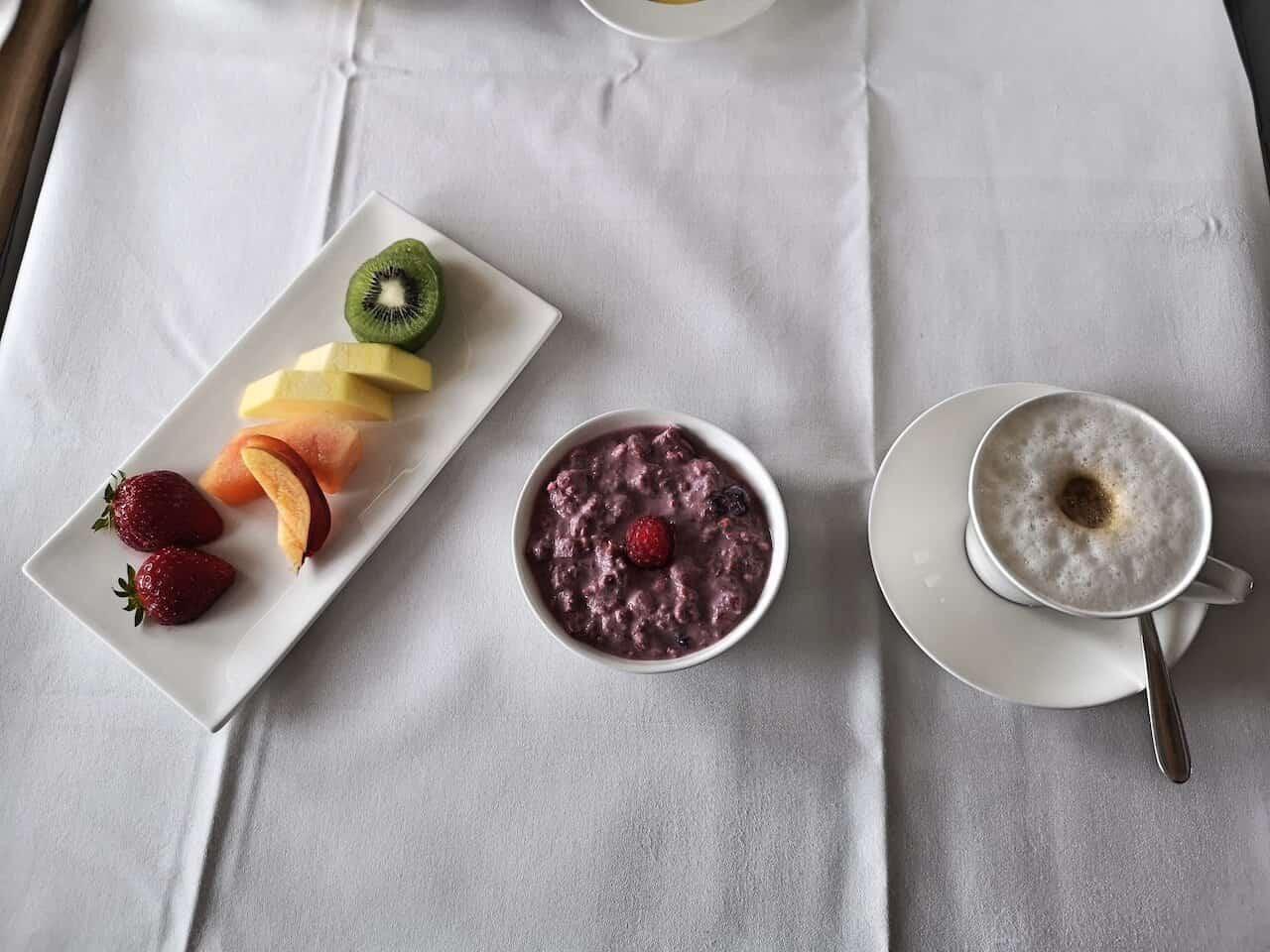 first class frühstück