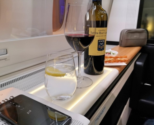 swiss airlines first class