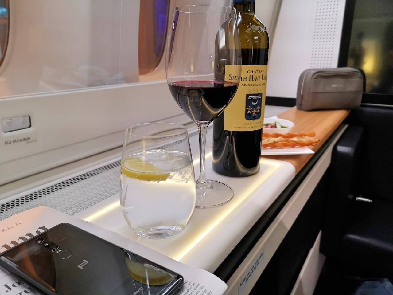 flying first class