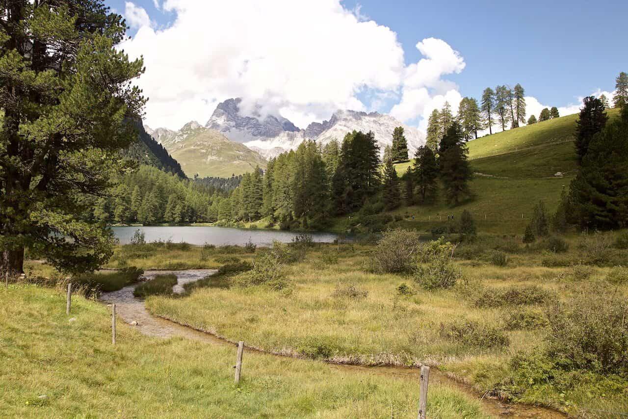 swiss mountains hike