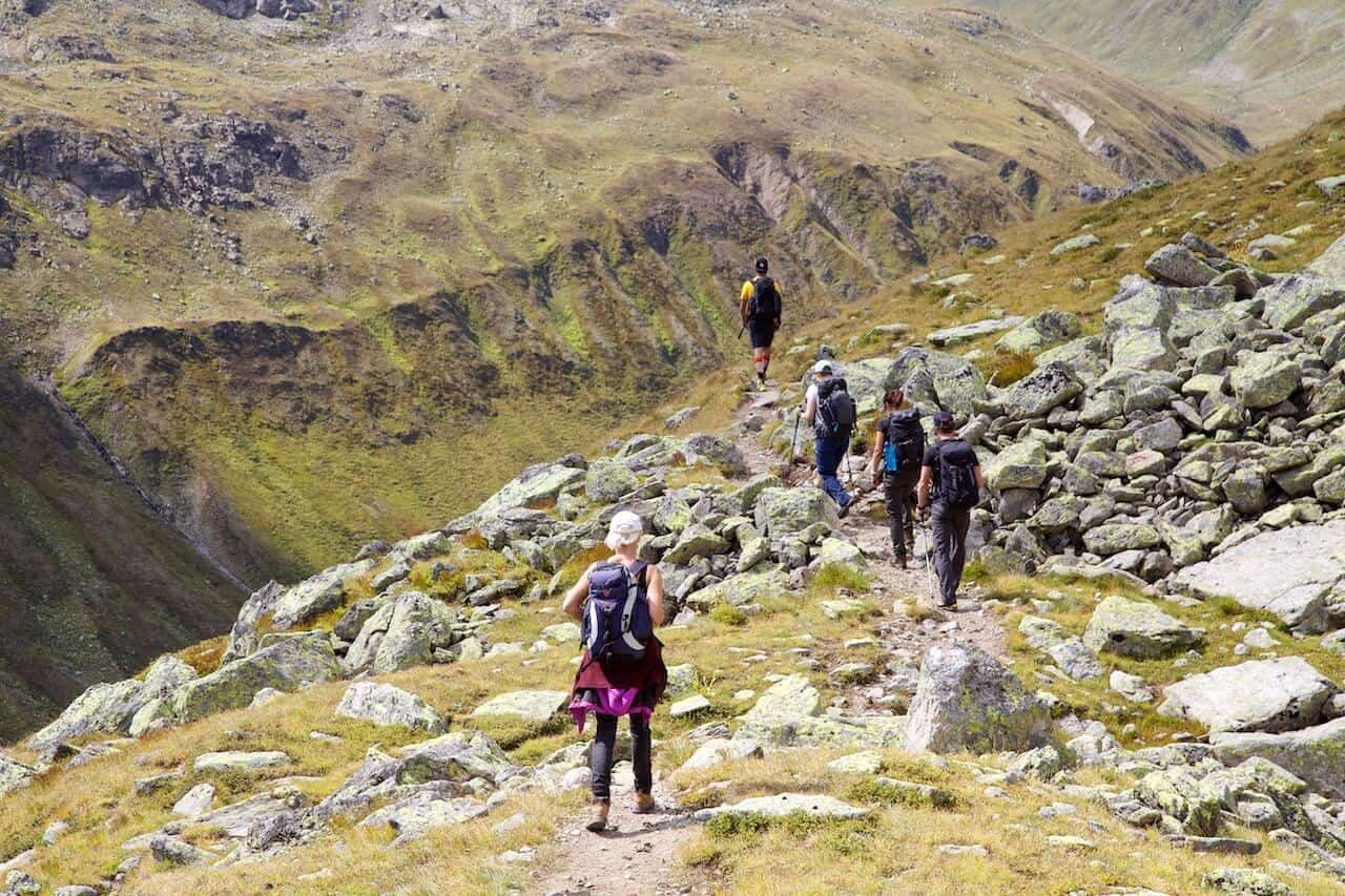 hiking group switzerland