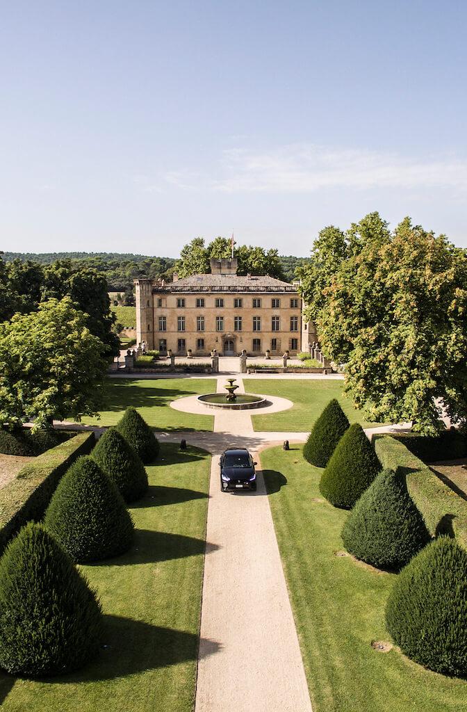 castle southern france