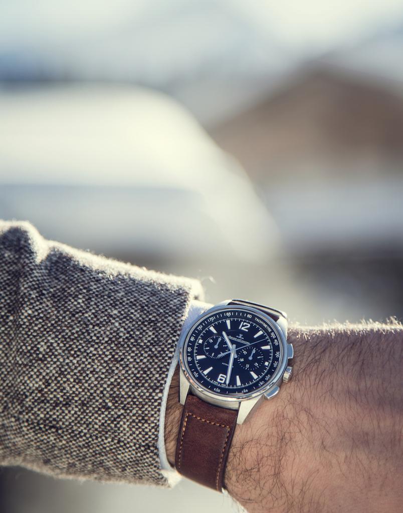 chronograph jaeger le-coultre