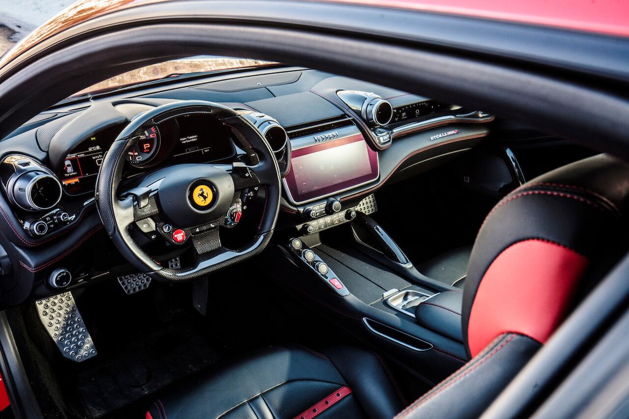 Driving The Ferrari Hatchback On Snow A Gentleman S World