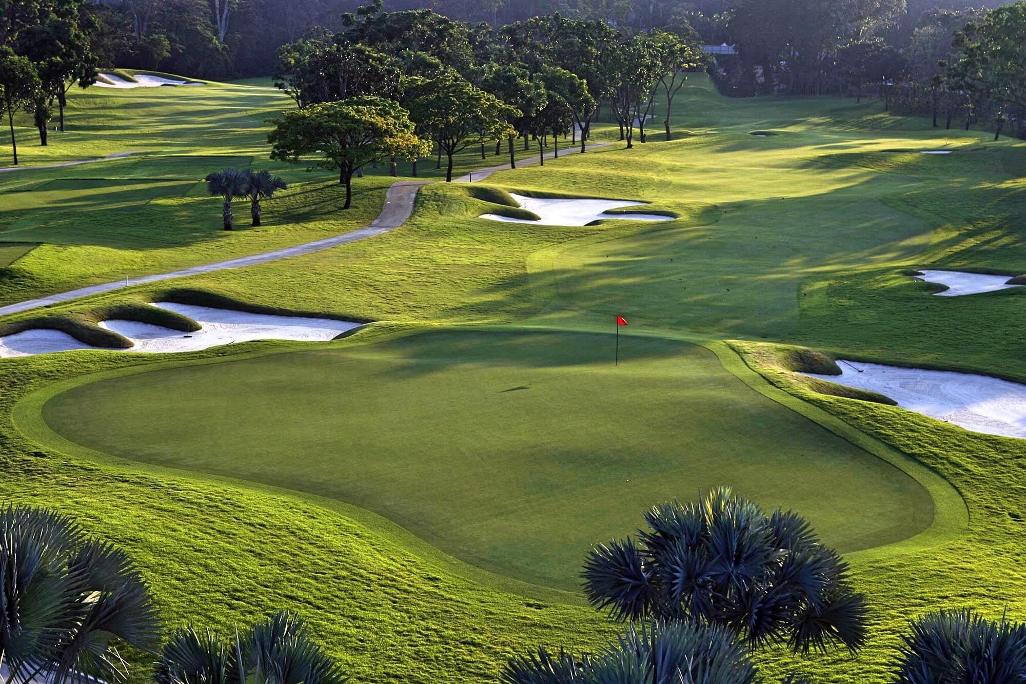 golfplatz singapur