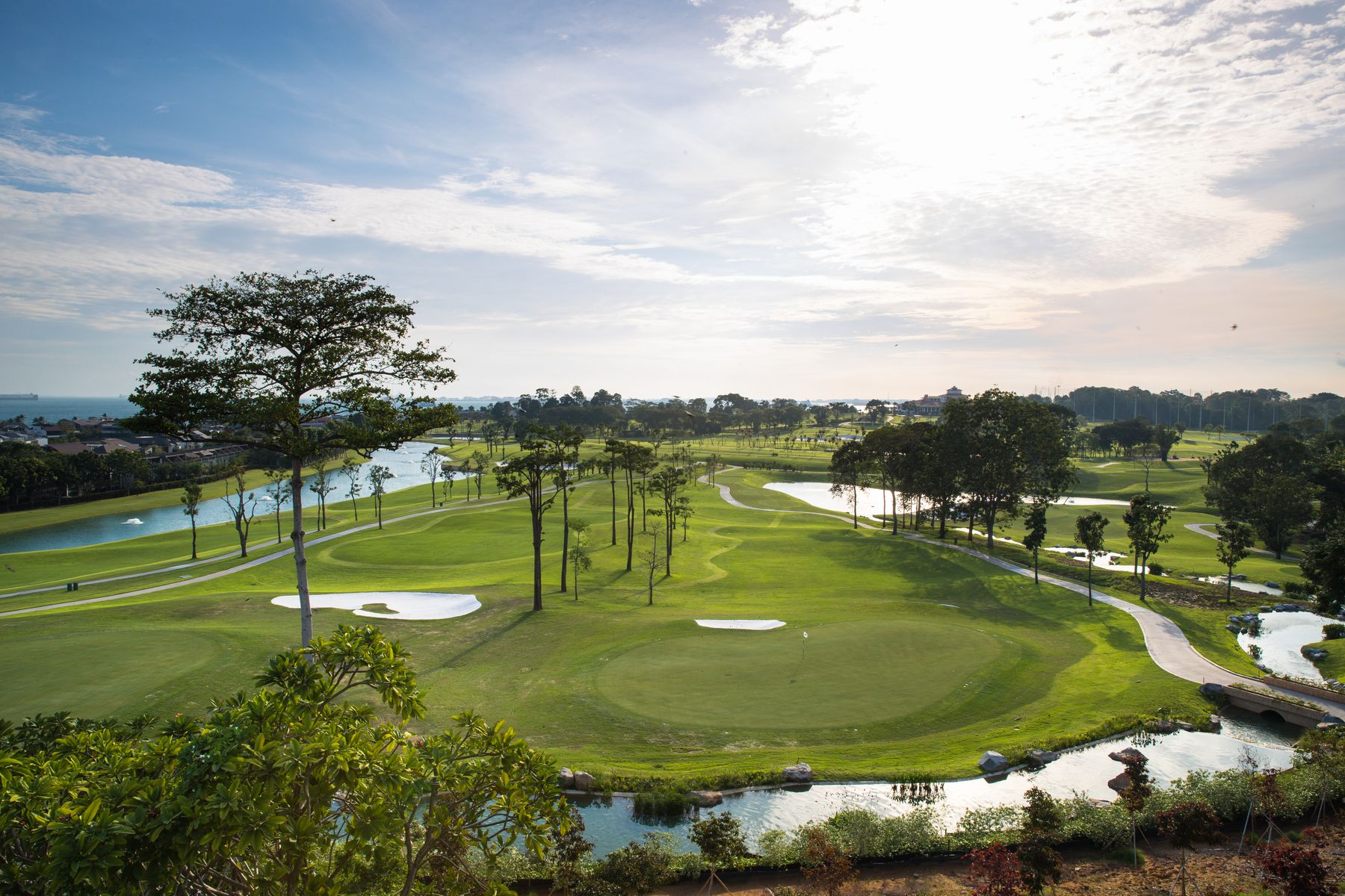 singapur golfplätze