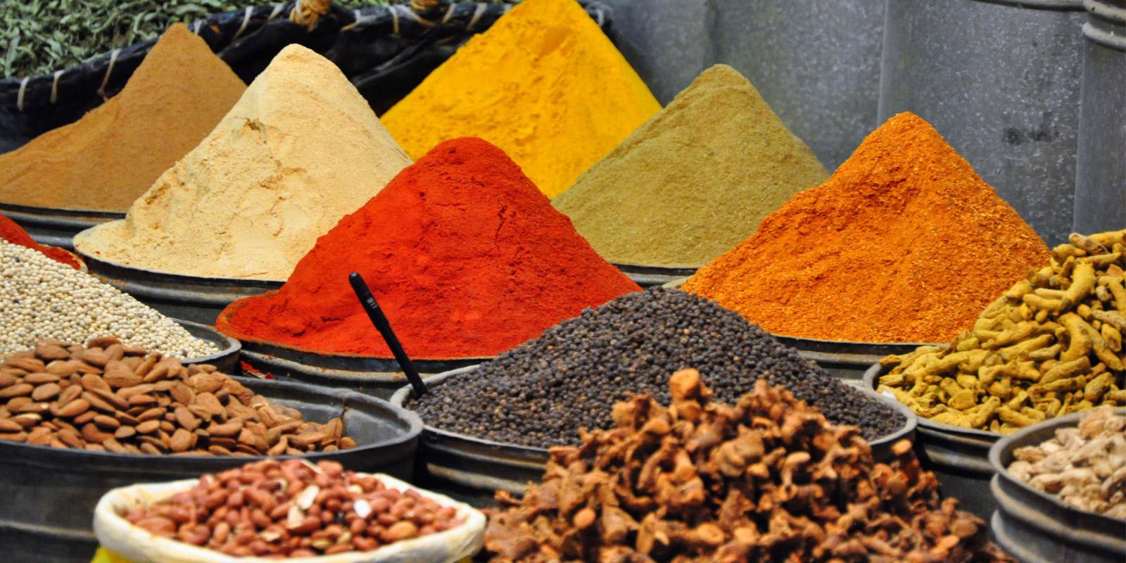 marrakesch markt gewürze