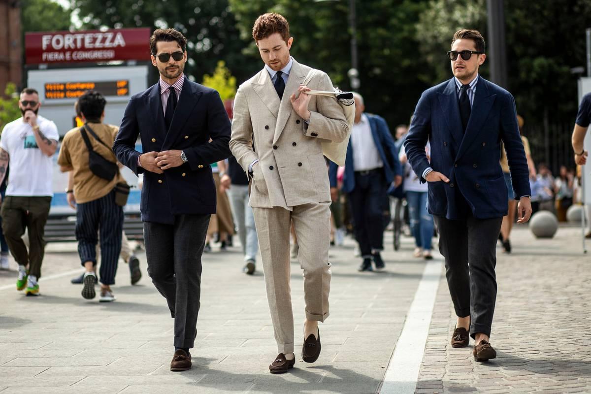 suit linen