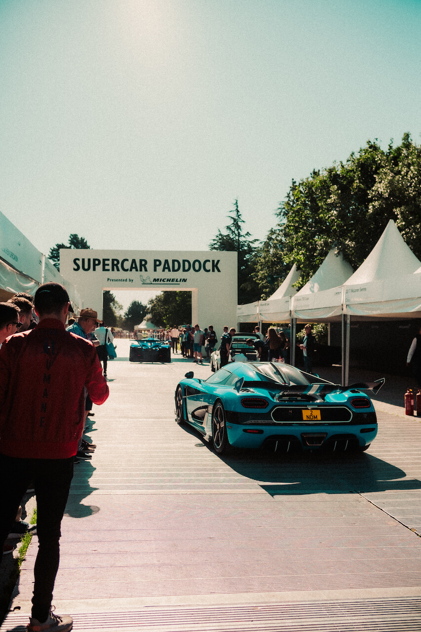 supercar paddock