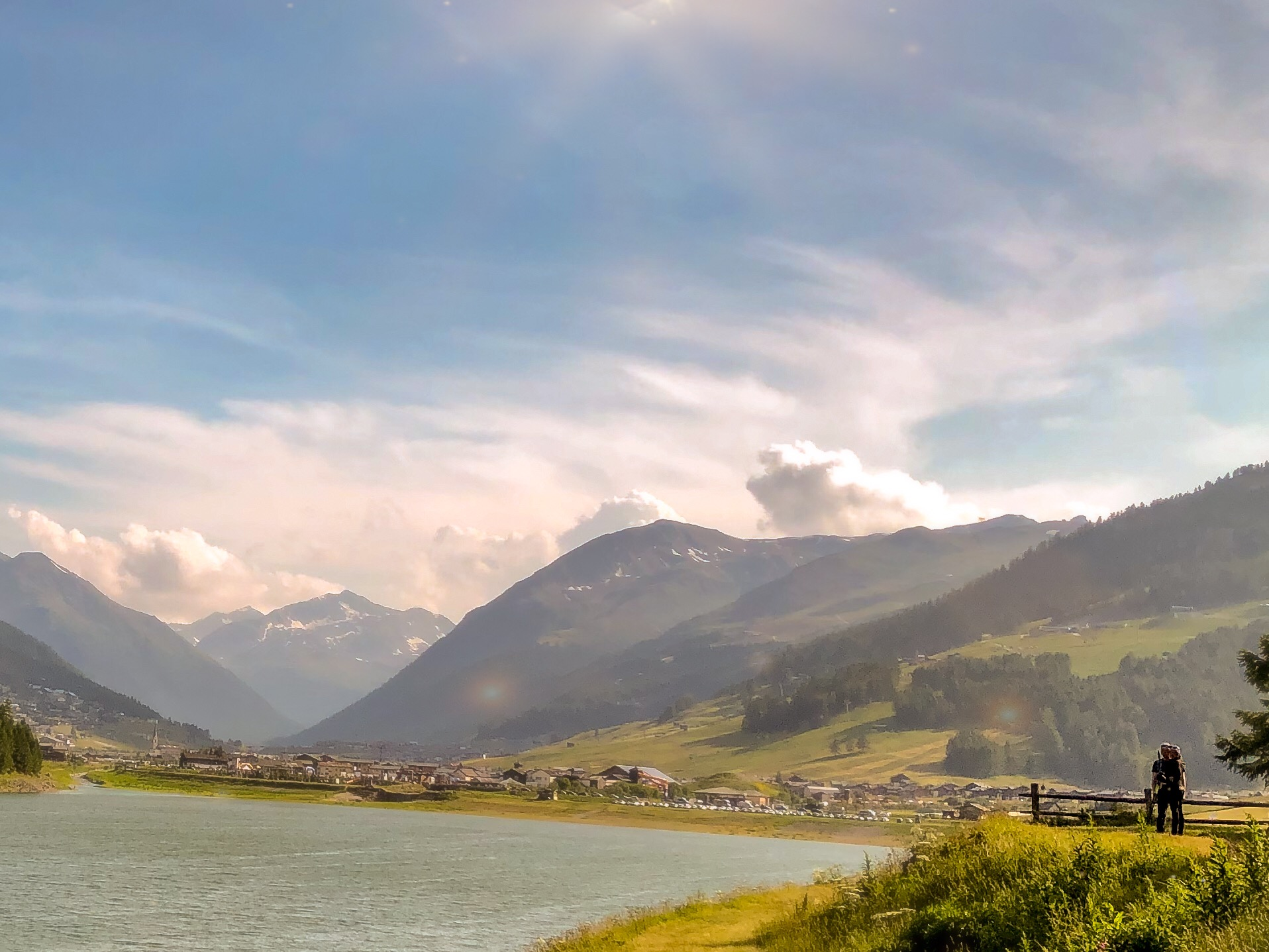 Lago di Livigno view welcoming back