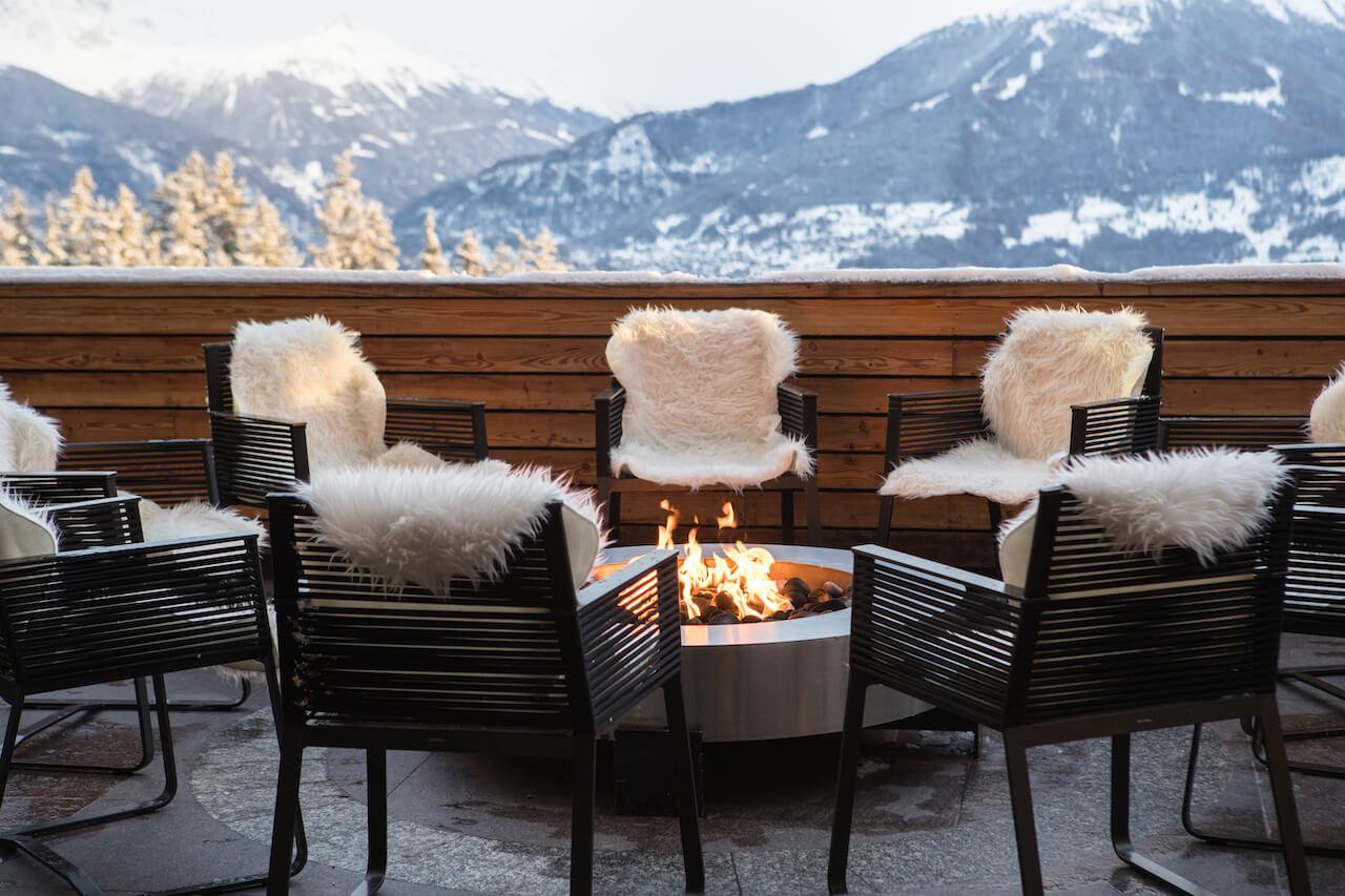 hotels in crans montana