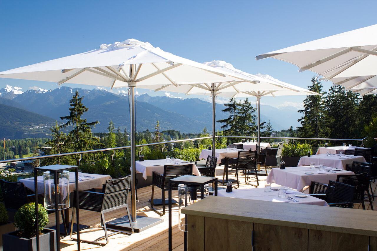 crans montana best hotel