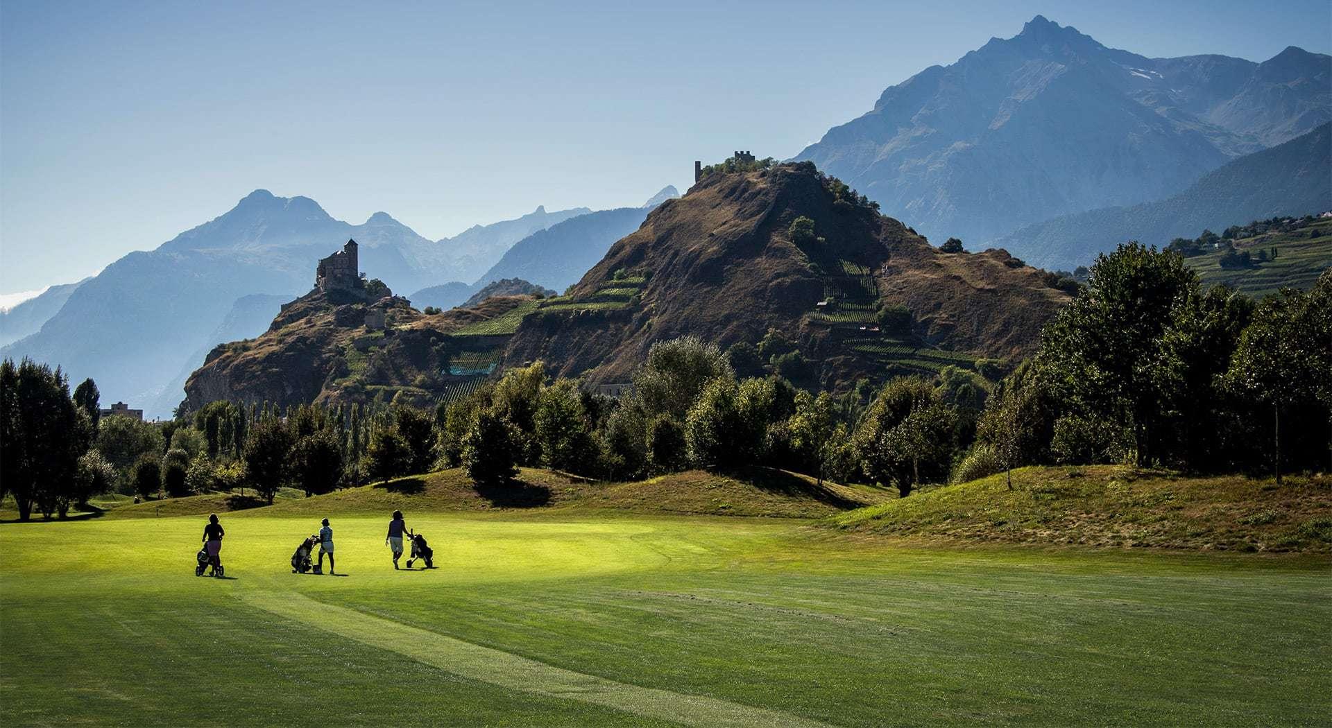 sion golfplatz